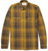 Our Legacy Checked Cotton-Flannel Shirt