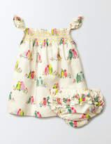 Boden Summer Smocked Dress
