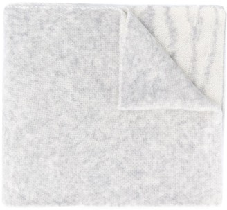 Fabiana Filippi Striped Knit Long Scarf