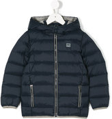 Armani Junior padded jacket - kids - Feather Down/Polyamide/Polyester/Feather - 4 yrs