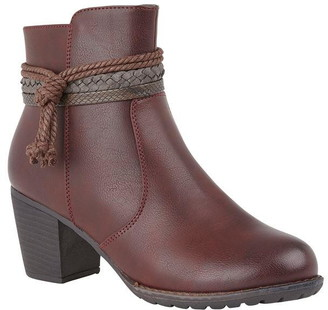 Lotus Shoes Odetta Heeled Ankle Boots