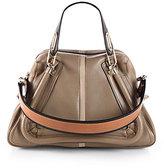 Chloé Paraty Military Medium Colorblock Shoulder Bag