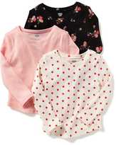 Old Navy 3-Pack Thermal Tees for Toddler Girls