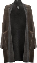 Avant Toi oversized pockets cardigan - women - Cashmere/Virgin Wool - XS
