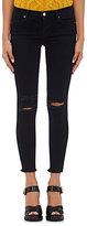 J Brand Women's Crop Skinny Jeans-BLUE