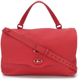 Zanellato Textured Messenger Bag