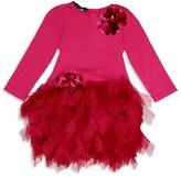 Biscotti Infant Girls' Knit Top Tutu Dress - Baby