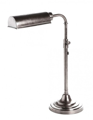 Emac & Lawton Brooklyn Table Lamp Antique Silver