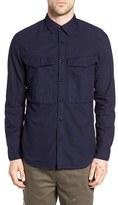 G Star Men's Vodan Extra Slim Fit Woven Shirt