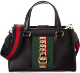 Gucci Sylvie Leather Top Handle Satchel
