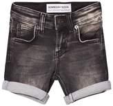 Someday Soon Washed Black Carl Denim Shorts