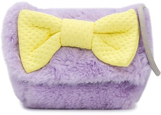 Bow fluffy bag