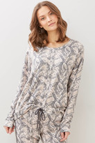 PJ Salvage Animal Instincts Sweatshirt Multi XS
