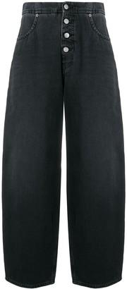 MM6 MAISON MARGIELA High Waisted Wide Leg Jeans