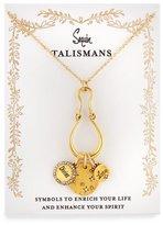 Badgley Mischka Divine Love Talisman Charm Necklace