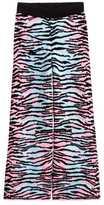 H&M Wide-leg Wool-blend Pants - Pink/light turquoise - Ladies