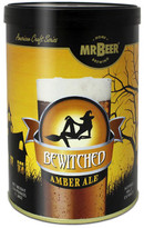 Mr. Beer Bewitched Amber Ale Beer Making Refill Kit