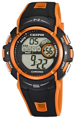 Calypso Boys Digital Quartz Watch with Plastic Strap K5610/7