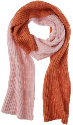 Miss Shop 2 Tone Colour Block Knit Scarf