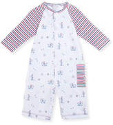 Kissy Kissy Pup Paw-trol Printed Coverall, Size 3-24 Months