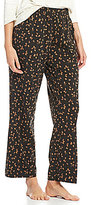 Sleep Sense Sleep Pants Coffee Bean-Print Sleep Pants