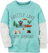 Carter's Graphic Slogan 2fer (Toddler/Kid) - Grizzly Lake-6