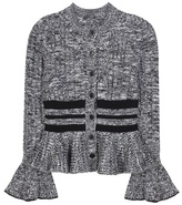Alexander McQueen Wool And Silk Knitted Cardigan