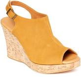 Cordani Vintage Saffron Wellesley Leather Slingback Wedge