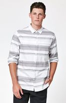 Tavik Shin Striped Long Sleeve Button Up Shirt