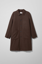 Weekday Edvard Coat - Brown