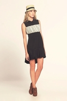 Ani Lee Agnes Dress in Black / Cream
