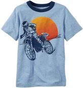 Carter's Boys 4-8 Motorcycle Graphic Ringer Tee