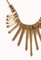Forever 21 Arrow Fringe Necklace