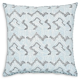 John Robshaw Dulina Lapis Decorative Pillow, 26 x 26