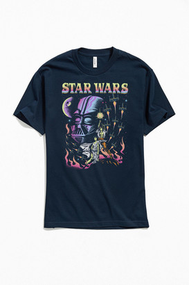 Urban Outfitters Star Wars Blacklight Tee