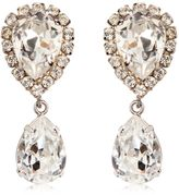 Dolce & Gabbana Large Swarovski Drop Clip-On Earrings