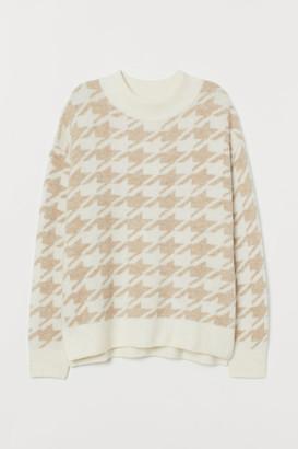 H&M MAMA Knit Sweater - Beige