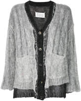 Maison Margiela embroidered knitted cardigan