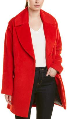 Trina Turk Trina By Ruby Wool & Alpaca-Blend Coat