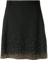 Versace beaded skirt - women - Polyamide/Polyester/Spandex/Elastane/Viscose - 40
