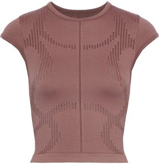 Pepper & Mayne Saskia Pointelle-knit Top