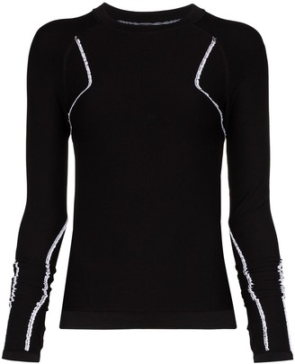 Paco Rabanne Long Sleeve Running Top
