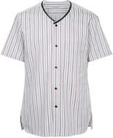 Lanvin striped baseball shirt