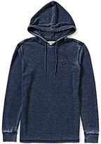 Billabong Keystone Pullover Garment-Washed Waffle-Knit Thermal Hoodie