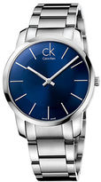 Calvin Klein Mens Swiss City Stainless Steel Bracelet Watch