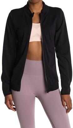 Z By Zella Seamless Woven Hybrid Jacket