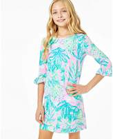 Lilly Pulitzer UPF 50+ Girls Mini Sophie Ruffle Dress