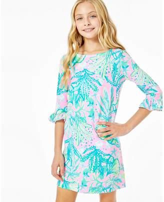 Lilly Pulitzer UPF 50+ Girls Mini Sophie Ruffle Dress