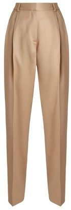 Roche Ryan Wool Pleated Trousers