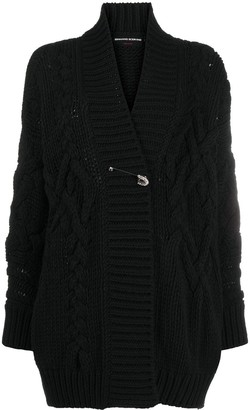 Ermanno Scervino Cable-Knit Cardigan